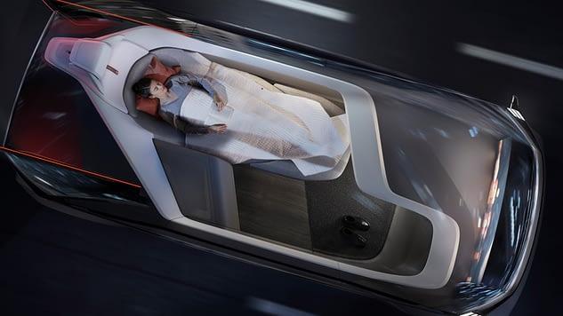 Volvo's 360c concept