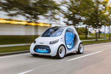 Daimler Smart Vision EQ fortwo concept